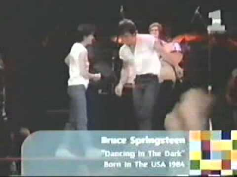 Bruce Springteen - Dancing in the dark (Videoclip con COURTENEY COX)