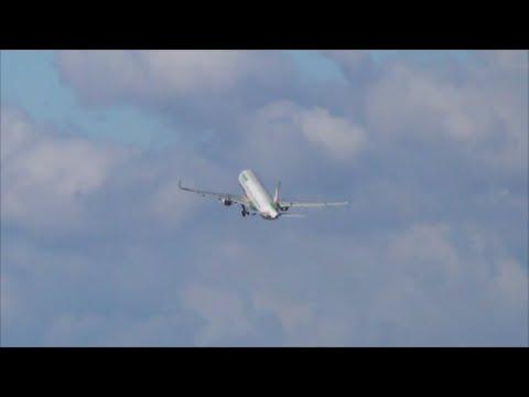 ◇女性管制官と女性コーパイがグッディ◇EVA AIR A321 34L CTakeoff◇成田空港◇nrt hhh