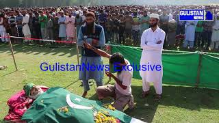 Thousands of People attend Funeral of Ayoub Lone of Lelhar kakapora pulwama