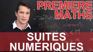 Suites numériques - Maths - 1ère - Les Bons Profs