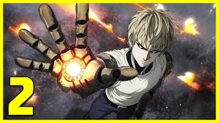 Cyborg-kun Genos! - One Punch Man Episode 2 LIVE REACTION  ワンパンマン
