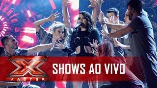 O show de rock de Naomi | X Factor BR