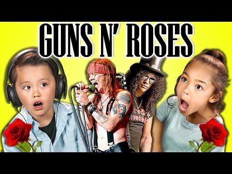 KIDS REACT TO GUNS N' ROSES