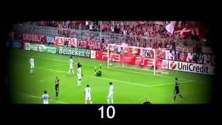 Arjen Robben Top 20 goles  HD