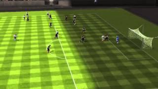 FIFA 14 iPhone/iPad - FC Barcelona vs. Liverpool