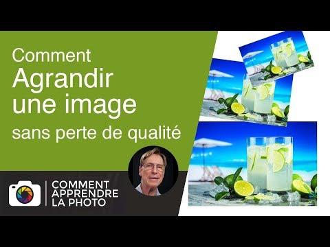 Comment agrandir une image sans perte de qualité