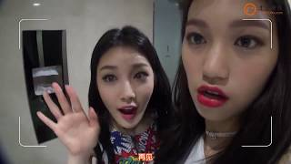 160816 The Show IOI Behind