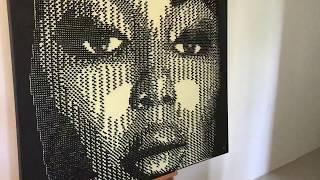 Patterns of Beauty Naomi Pushpin Artwork Details