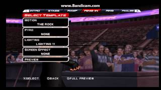 WWE SVR 11 PSP Roman Reigns Entrance