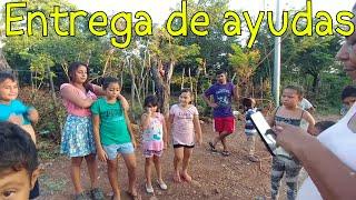 Entrega de ayuda para Nandito y otros niños de la Plaguita Jr. Panes con Gallina. Parte 10