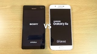 Samsung Galaxy A8 VS Sony Xperia C4 - Speed & Camera Test!