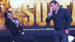 Salman Khan MAKES FUN of Shahrukh Khan & Aamir Khan @ Sultan Trailer Launch
