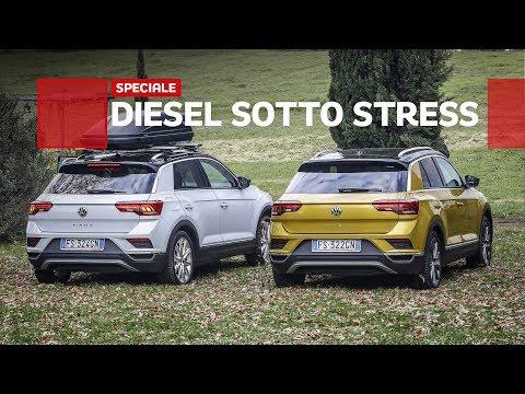 Un DIESEL può consumare tanto Il test con la VW T Roc 1.6 TDI