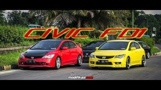 Modifikasi Honda CIVIC FD1 Gaul Masa Kini
