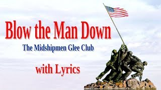 Blow the man down with Lyrics