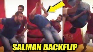 Salman Khan Amazing Back Flip Video | Sultan Hard Training