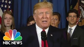 President Donald Trump On Obamacare: Republicans Close To Passing Replacement | NBC News