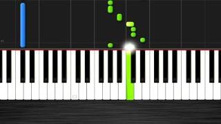 Ariana Grande - One Last Time - EASY 50% SPEED Piano Tutorial - Synthesia