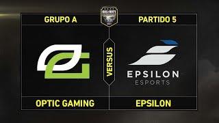 Grupo A: OPTIC GAMING vs EPSILON #CoDChampsLVP