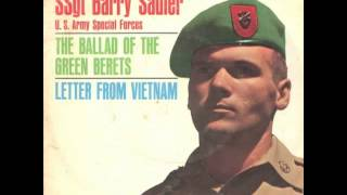 SSgt Barry Sadler - The Ballad Of The Green Berets