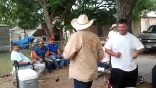Drunk Mexicans dance