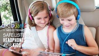 KidJamz Safe Listening Headphones for Kids by MEElectronics (Instructional version)