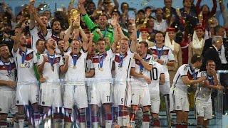 WM 2014 Deutschland ist Weltmeister !!! Siegerehrung Deutschland - Argeninien 1:0