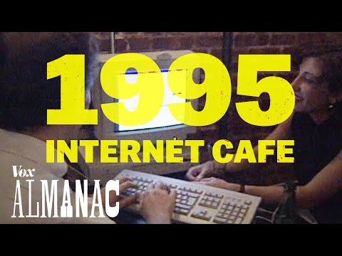 The hippest internet cafe of 1995