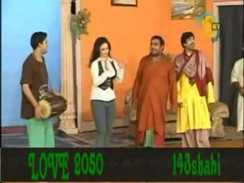 New Stage Drama Sajan Abas Full Funny Part 2012