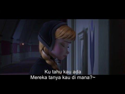Nak Tak Bina Orang Salji dengan lirik Frozen HD