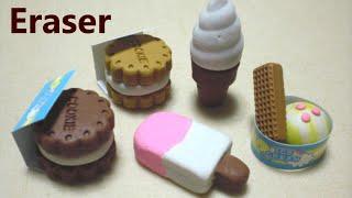 Kutsuwa DIY Eraser Making Kit 4 - Ice Cream