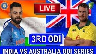 LIVE SCORE I Australia vs India 3rd ODI match 2019 live Streaming I Aus vs Ind