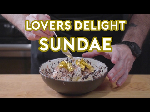Binging with Babish Lovers Delight Sundae from 30 Rock
