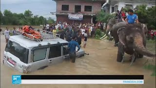 أكثر من 90 قتيلا في الهند ونيبال بسبب الأمطار الموسمية الغزيرة