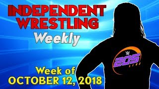 205 Live Star Headed to EVOLVE! | Independent Wrestling Weekly (Week of Oct. 12 2018)