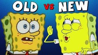 Old Spongebob vs. New Spongebob