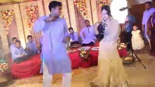Nagin dance with vabi at sumon's holud