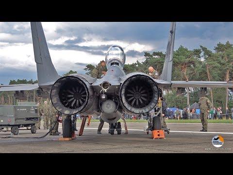 MiG 29 start up to shut down Polish Air Force Kleine Brogel Air Base