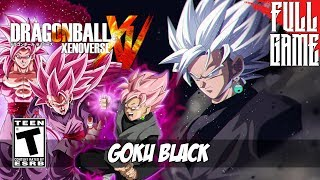 DragonBall XenoVerse: Super Goku Black Full Playthrough [PC- HD]