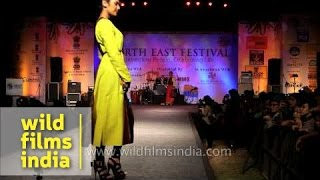 Designer Roselyn Khongsai's exclusive fashion collection from north-east India