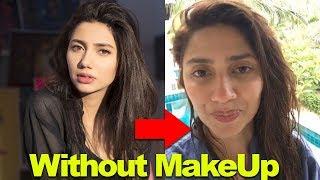 Top Pakistani Actresses Look without Makeup