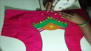 How to make Designer Blouse at Home-82