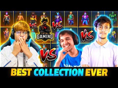 Xmania vs Ajjubhai vs Amitbhai Vs PAHADI Best Collection versus Ever Xmania FreeFire