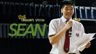 Candidate Speech - Sean