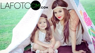 Mother father and lovely daughter Film Ourense Videobook  sesion fotografia y video madre, familia