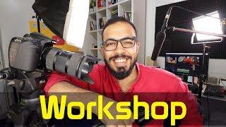 YouTube Workshop إعلان ورشة اليوتيوب