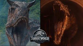 Carnotaurus vs Baryonyx Fight Sequence   Jurassic World Fallen Kingdom