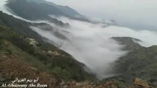 جبل مصيدة ببلغازي - تصوير & تصميم أبو ريم الغزواني