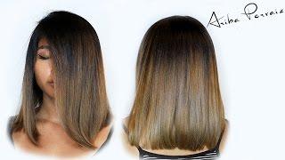 Lob and Ombre - Hair Makeover | ARIBA PERVAIZ