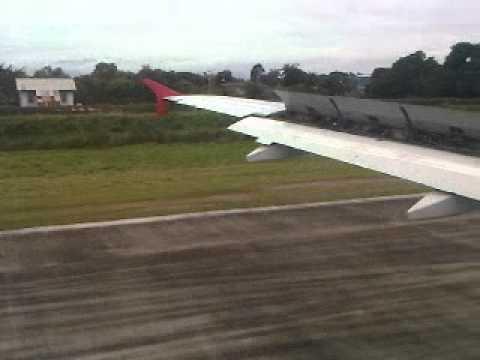 Landing @SAP from MIA Taca 537